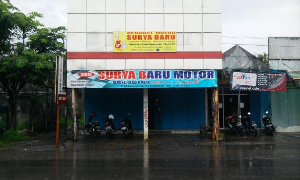 Mantan bengkel resmi Suzuki di daerah Banyuanyar, Solo