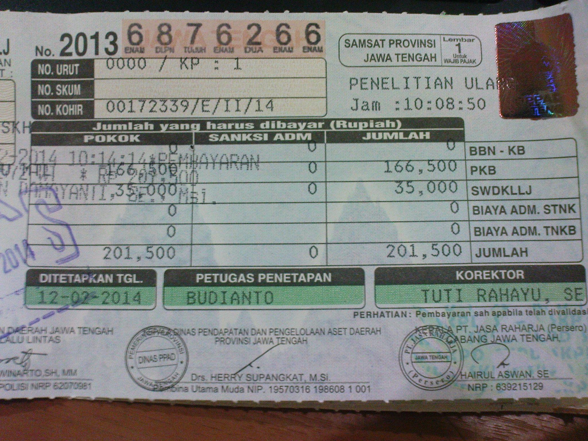 Update Terbaru Perhitungan Denda Pajak Motor 2017 Sepulsa
